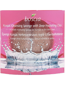 Konjac Cleansing Sponge With Hydrating Clay by Boscia