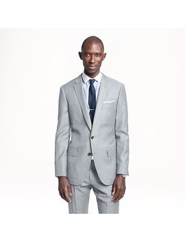 Ludlow Suit Jacket In Pinstripe Italian Wool by J.Crew