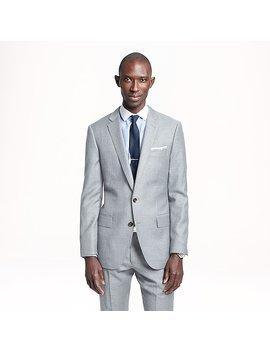 Ludlow Suit Jacket In Pinstripe Italian Wool by J.Crew