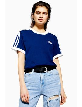 Three Stripe T Shirt By Adidas by Topshop