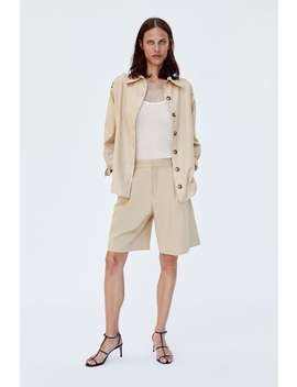 Pleated Shorts  Bottomsstarting From 50 Percents Off Woman Sale by Zara
