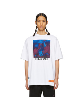 White Birds Regular T Shirt by Heron Preston