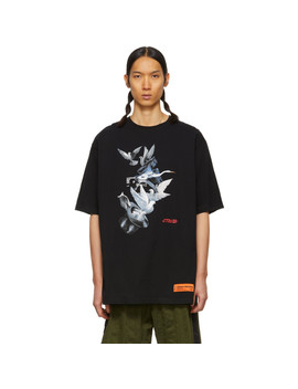 Black Doves Regular T Shirt by Heron Preston