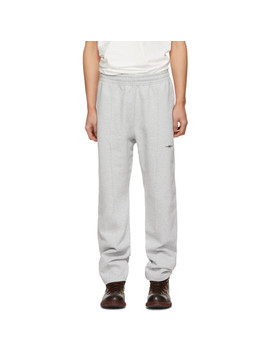 Grey Logo Lounge Pants by Phipps