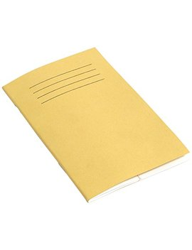 Rhino 165 X 100 Mm Vocabulary Notebook   Yellow (Pack Of 10) by Rhino