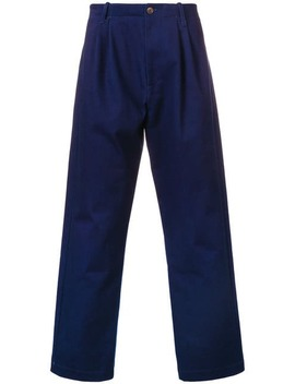 Pleated Trousers by Société Anonyme