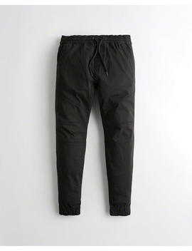 Advanced Stretch Skinny Twill Jogger Pants by Hollister