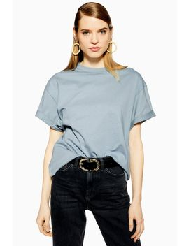 Boxy Roll Sleeve T Shirt by Topshop