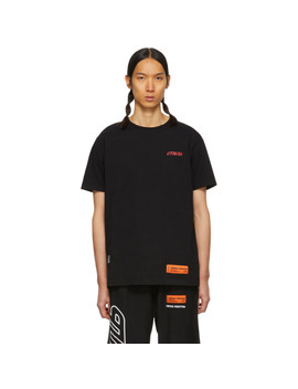 Black 'style' Regular T Shirt by Heron Preston