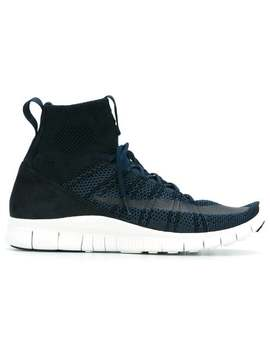 Free Flyknit Mercurial Hi Top Sneakers by Nike