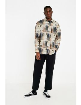 Loom '80s Patch Print Viscose Shirt by Loom