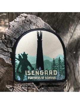 "Fortress Of Gondor 3.75"" Patch by Etsy"
