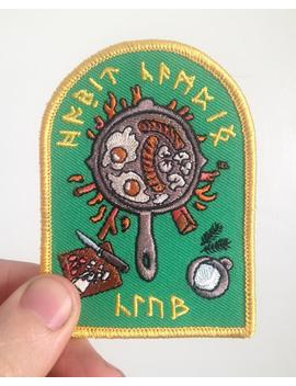 Hobbit Camping Club Patch by Etsy