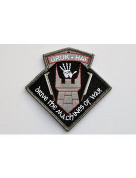Lord Of The Rings Unit Patch (Saruman's Uruk Hai) || From Orbital Design Lab by Etsy
