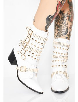 Rockstar Tendencies Studded Boots by Cape Robbin