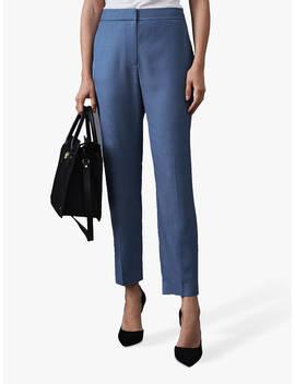 Reiss Etta Tailored Trousers, Marine Blue by Reiss