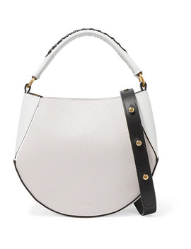 Corsa Mini Textured Leather Shoulder Bag by Wandler