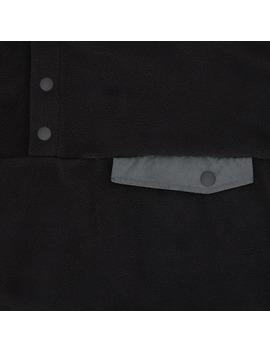 Icon Logo Pullover Fleece Black by Denim By Vanquish & Fragment