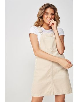 The Cord Pinafore by Cotton On