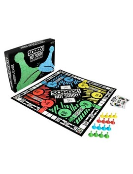 Sorry! Not Sorry! Adult Party Board Game Parody Of The Classic Sorry! Game by Sorry!