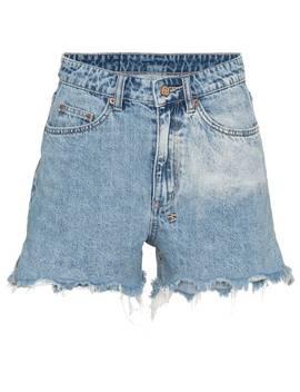 Rise N Hi Distressed Denim Shorts by Ksubi