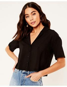 Cropped Blouse by Glassons