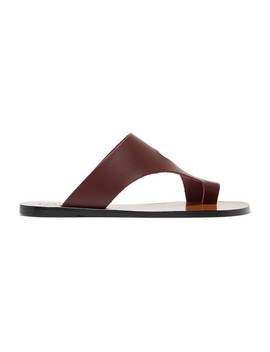 Roma Leather Sandals by Atp Atelier