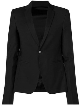Narrow Lapels Blazer by Rick Owens