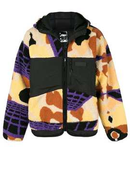 Printed Hooded Coat by Pam Perks And Mini