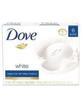 Dove Beauty Bar White   4oz/8pk by Dove