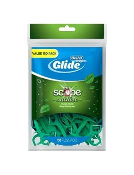 Oral B Glide Long Lasting Mint Floss Picks   150ct by Oral B