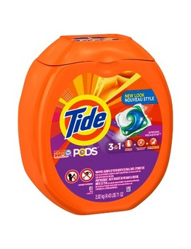 Tide Pods Spring Meadow Liquid Laundry Detergent   81ct by Tide