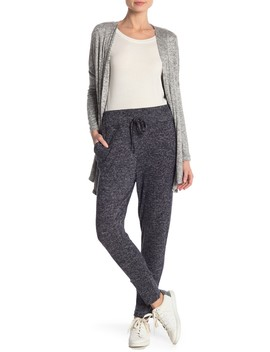 Cozy Drawstring Fleece Joggers (Regular & Petite) by Bobeau