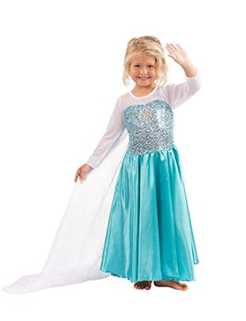 Butterfly Craze Girls Snow Queen Costume Snow Princess Dress   2 Years by Butterfly Craze