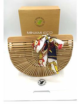 Bamboo Bag Handbag by Minami Eco
