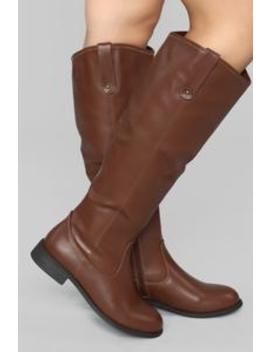 Not Far From Home Flat Boot   Brown by Fashion Nova