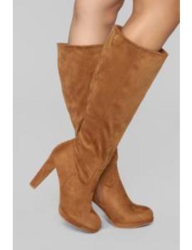 I Rather Not Boot   Chestnut by Fashion Nova
