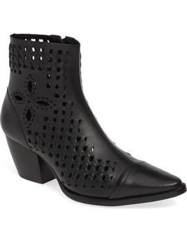 Bello Woven Pointy Toe Bootie by Matisse