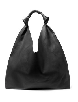 Bindle Double Knots Leather Shoulder Bag by The Row