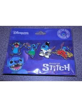 Disney Pin Stitch Disneyland Paris Booster Set Of 4 Pins Lilo by Ebay Seller
