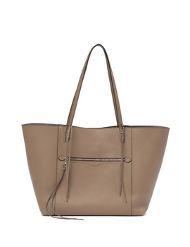 Jody East West Pebbled Leather Tote Bag by Rebecca Minkoff