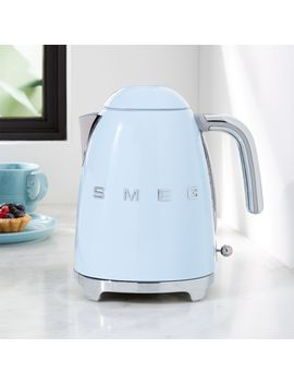 Smeg Pastel Blue Retro Electric Kettle by Crate&Barrel