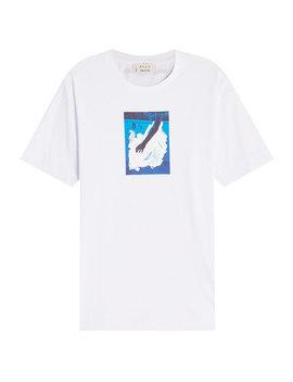 Bedrucktes T Shirt Aus Baumwolle by Alyx Studio