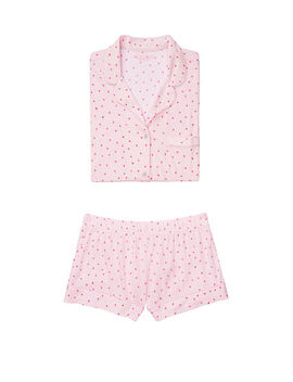 New! The Short Sleeve Knit Pj by Victoria's Secret
