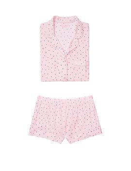 The Short Sleeve Knit Pj by Victoria's Secret