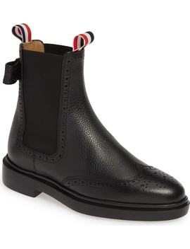 Brogue Chelsea Boot by Thom Browne