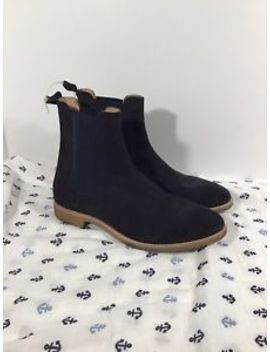 Represent Chelsea Boots Mens 10 Dark Blue by Represent
