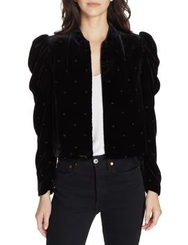 Orli Dot Velvet Blazer by Ulla Johnson