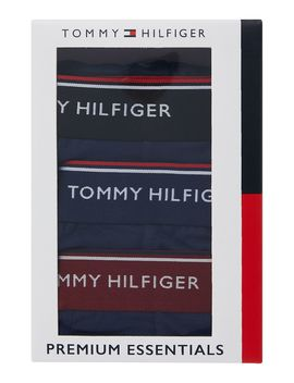 3 Pack Contrast Waistband Trunk by Tommy Hilfiger
