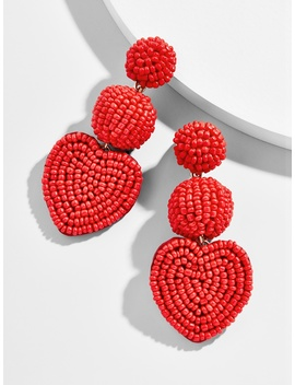 Vitina Heart Drop Earring by Baublebar
